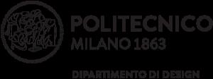 Politecnico di Milano Dipartimento Design logo